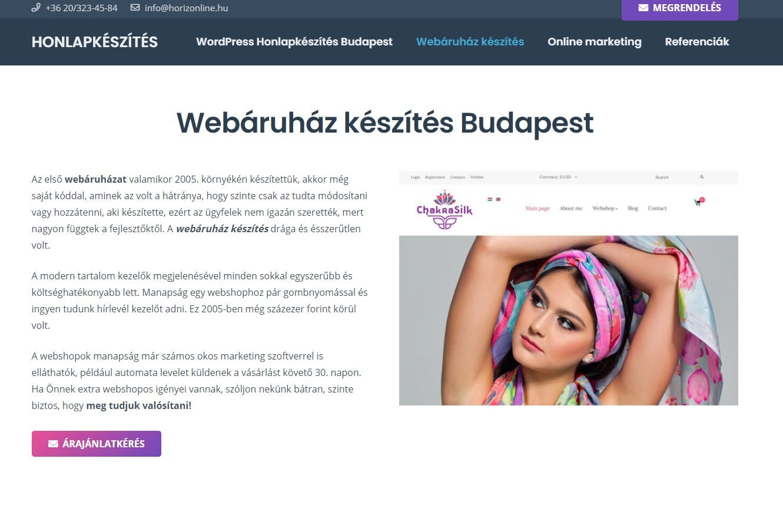 Webáruház, webshop készítése válságban