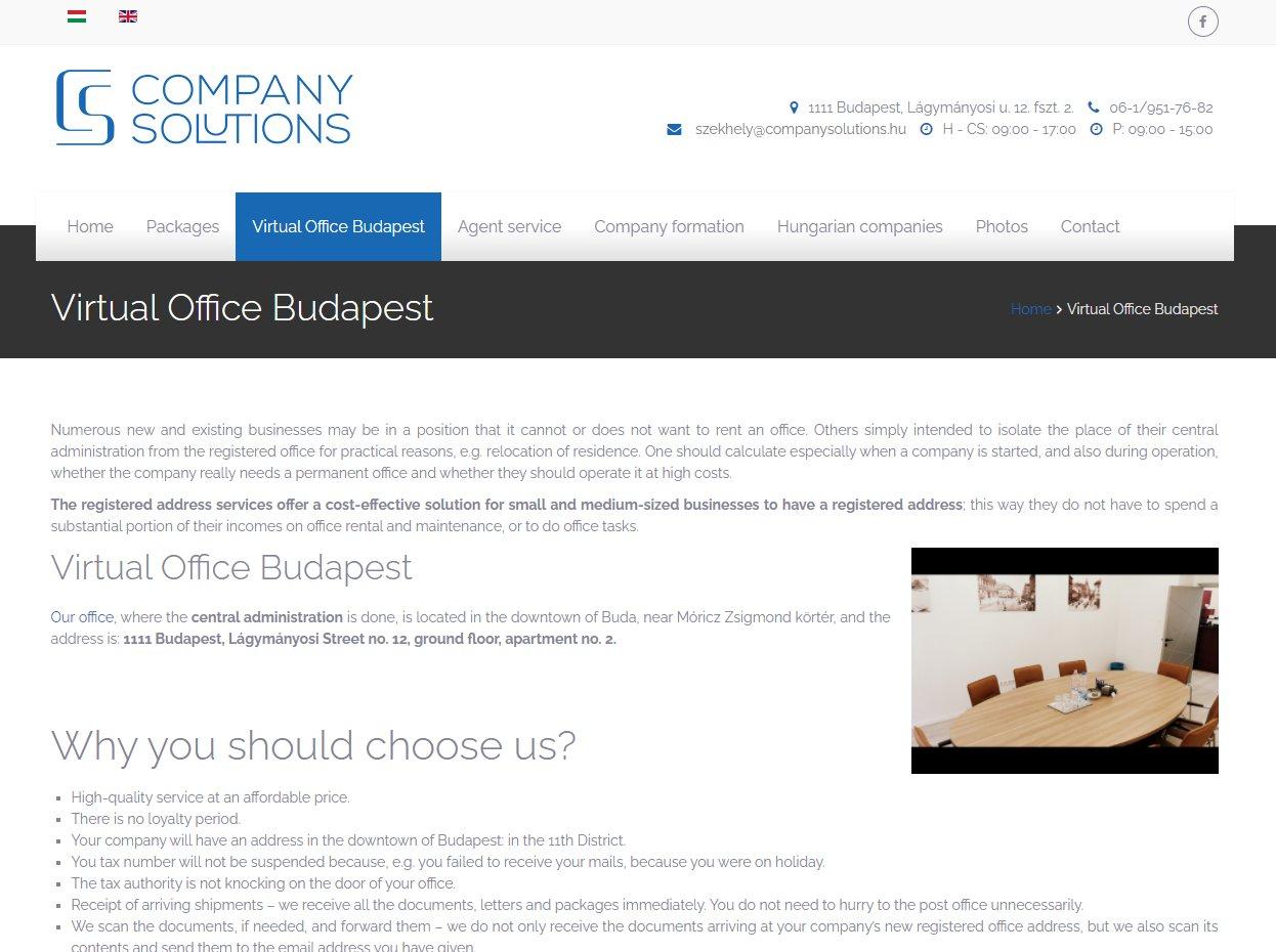 Virtual Office Budapest